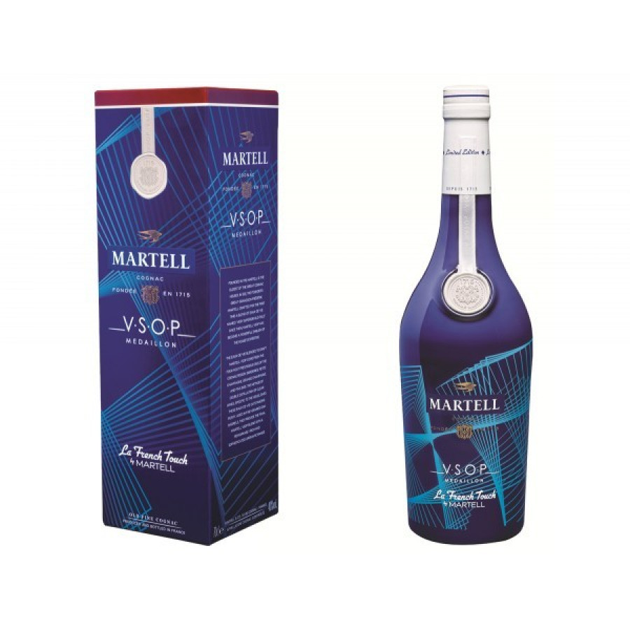 Martell La French Touch VSOP by Etienne de Crecy Cognac 01