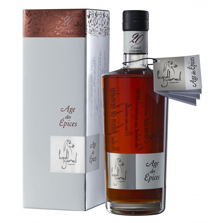 Léopold Gourmel Extra Age des Epices 20 Carats Cognac 01