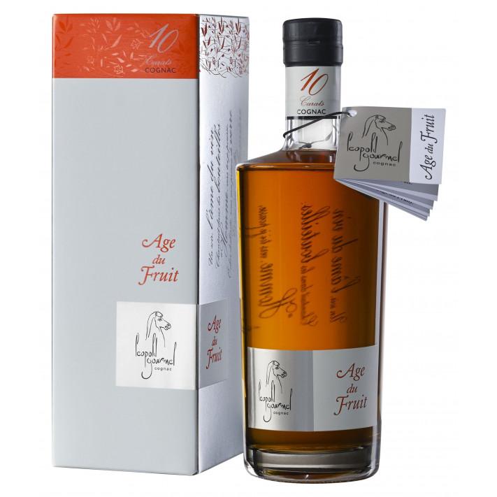 Léopold Gourmel XO Age Du Fruit 10 Carats Cognac