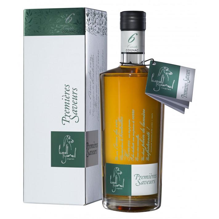 Léopold Gourmel VSOP Premières Saveurs 6 Carats Cognac 01