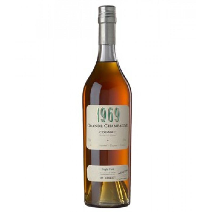 Léopold Gourmel Vintage Millésime 1969 1st Cru Cognac 01