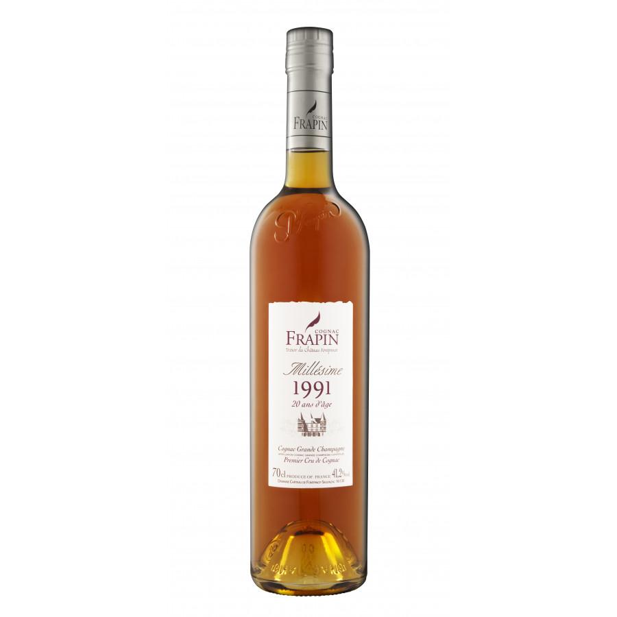 Frapin Millesime 1991 Tresor Du Chateau Cognac 01