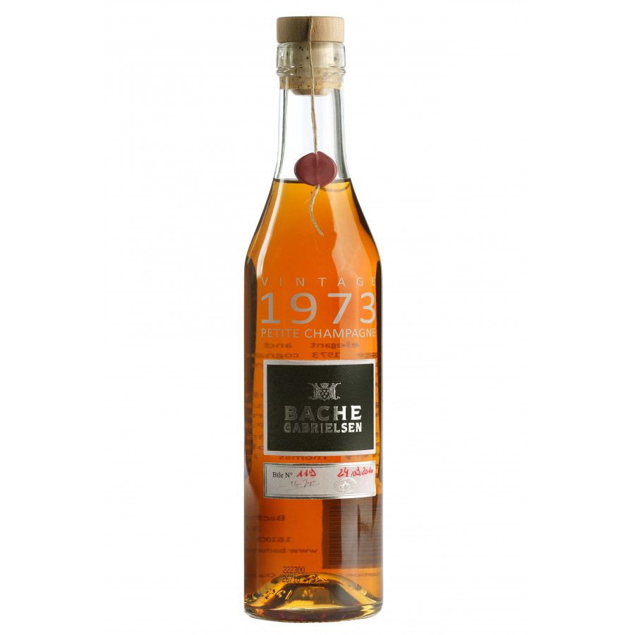 Bache Gabrielsen 1973 Single Estate Cognac 01