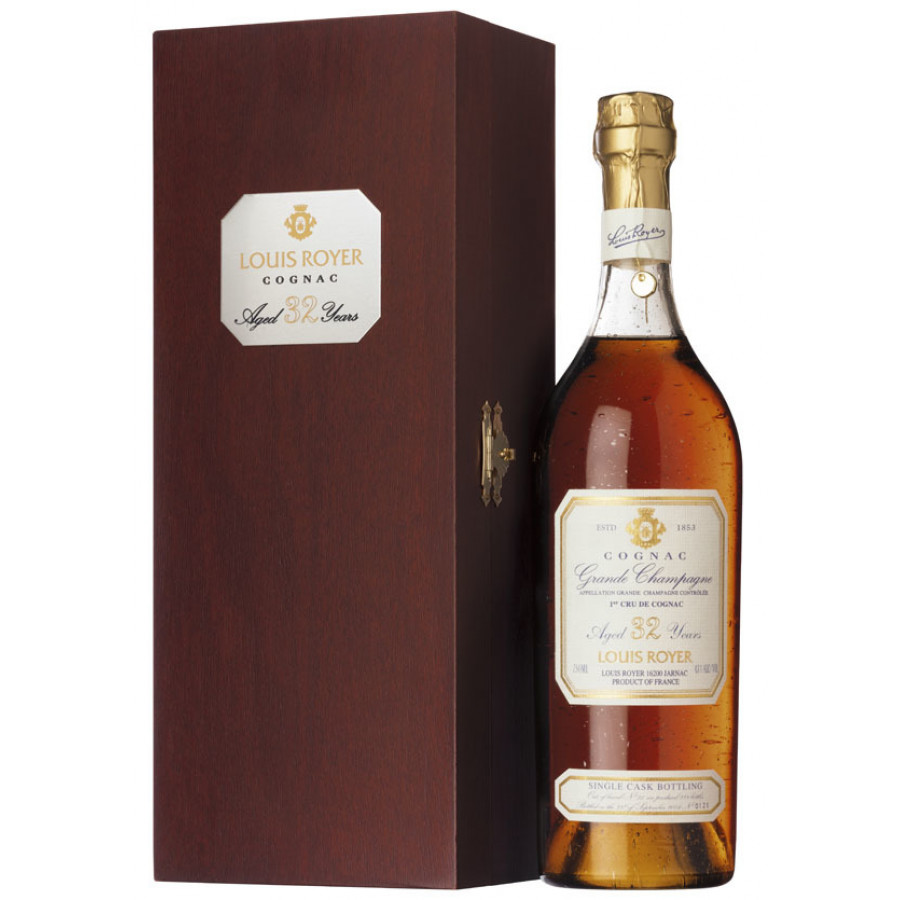 Louis Royer 32 Year Old Grande Champagne Cognac 01