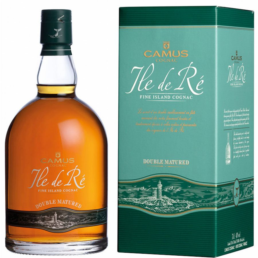 Camus Ile de Ré Double Matured Cognac 01