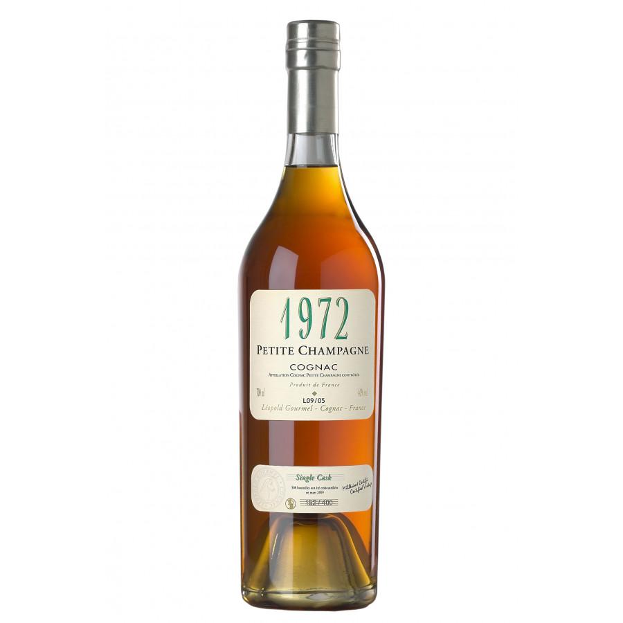 Leopold Gourmel 1972 Vintage Petite Champagne Cognac 01