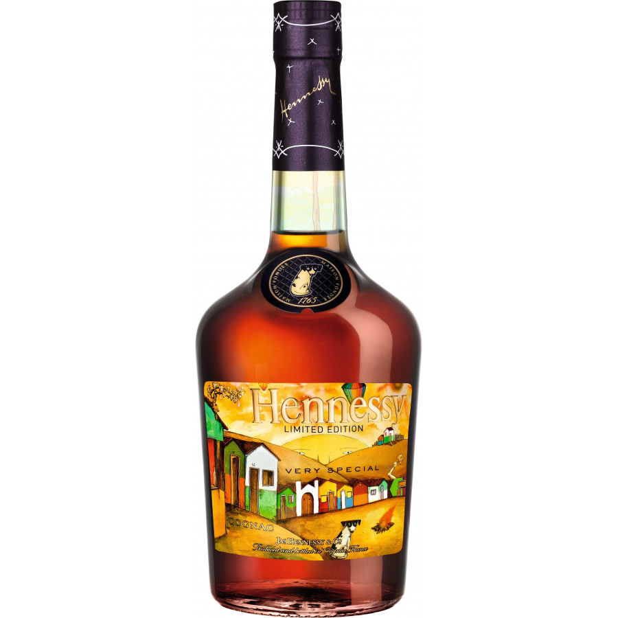 Hennessy Os Gemeos VS Limited Edition Cognac 01
