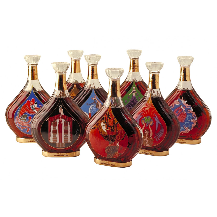 Courvoisier Collection Erte Cognac 01