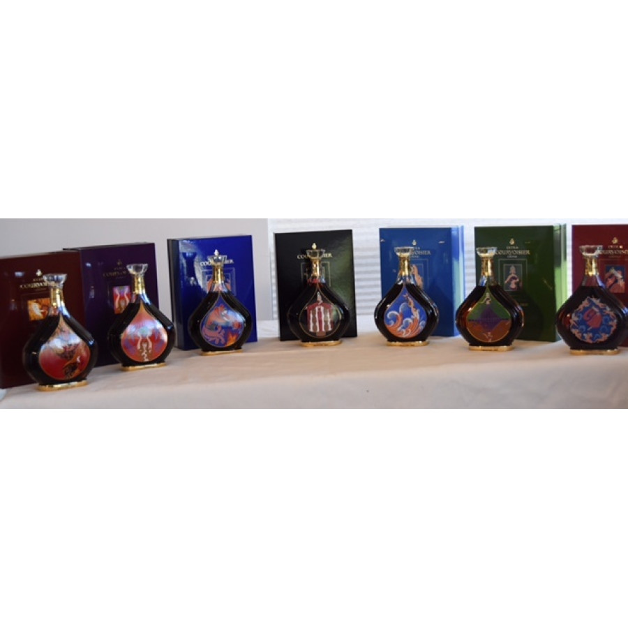 Courvoisier ERTE 1-7pcs Collection
