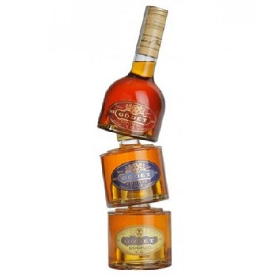 Trinity Godet (3x20cl) VS Cognac 01