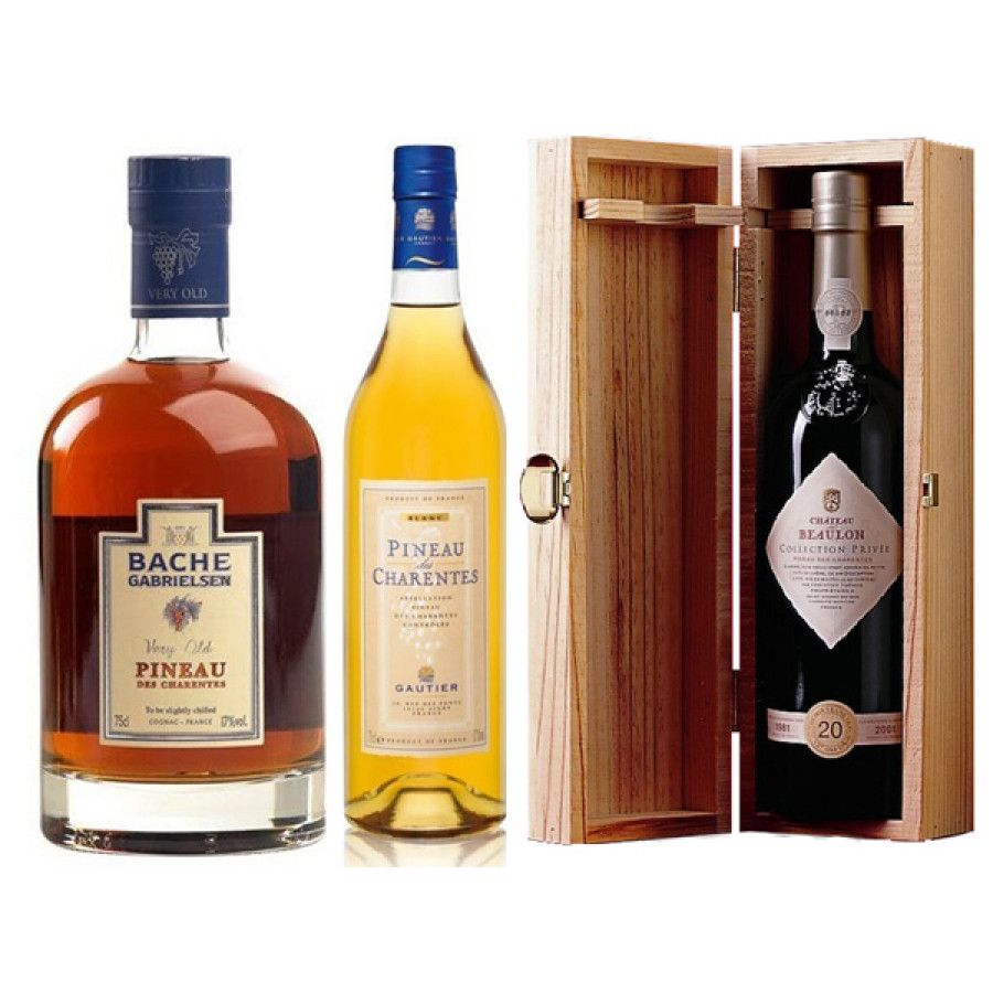 Pineau des Charentes Triple Set