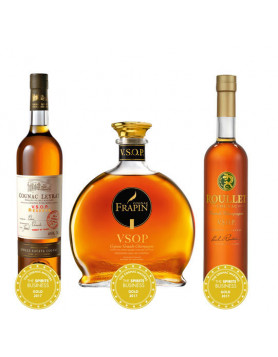 Awarded VSOP Triple Set with