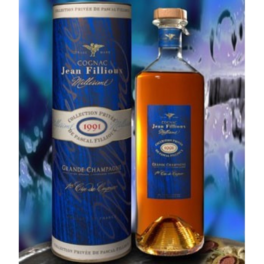 Jean Fillioux Vintage 1991 Millésime Cognac