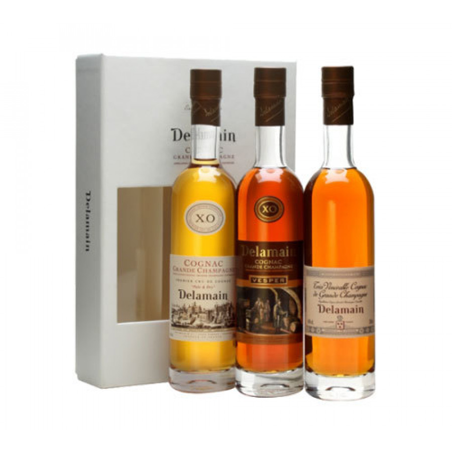 Delamain Gift Box Trio Cognac 01