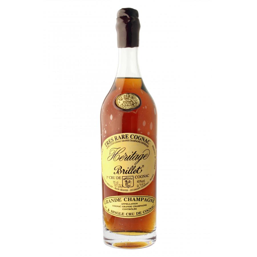 Brillet Héritage Brut De Fût 45% Cognac 01