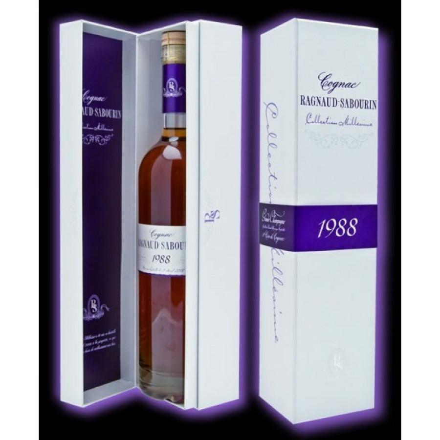 Ragnaud Sabourin 1988 Vintage Millesime Cognac 01