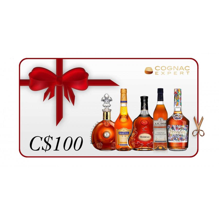C$100 Gift Card