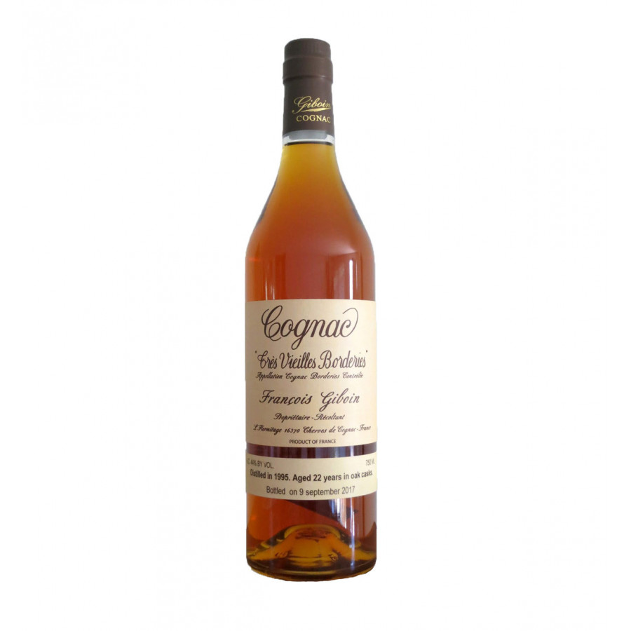 Francois Giboin 22 Year 1995/2017 Borderies Cognac