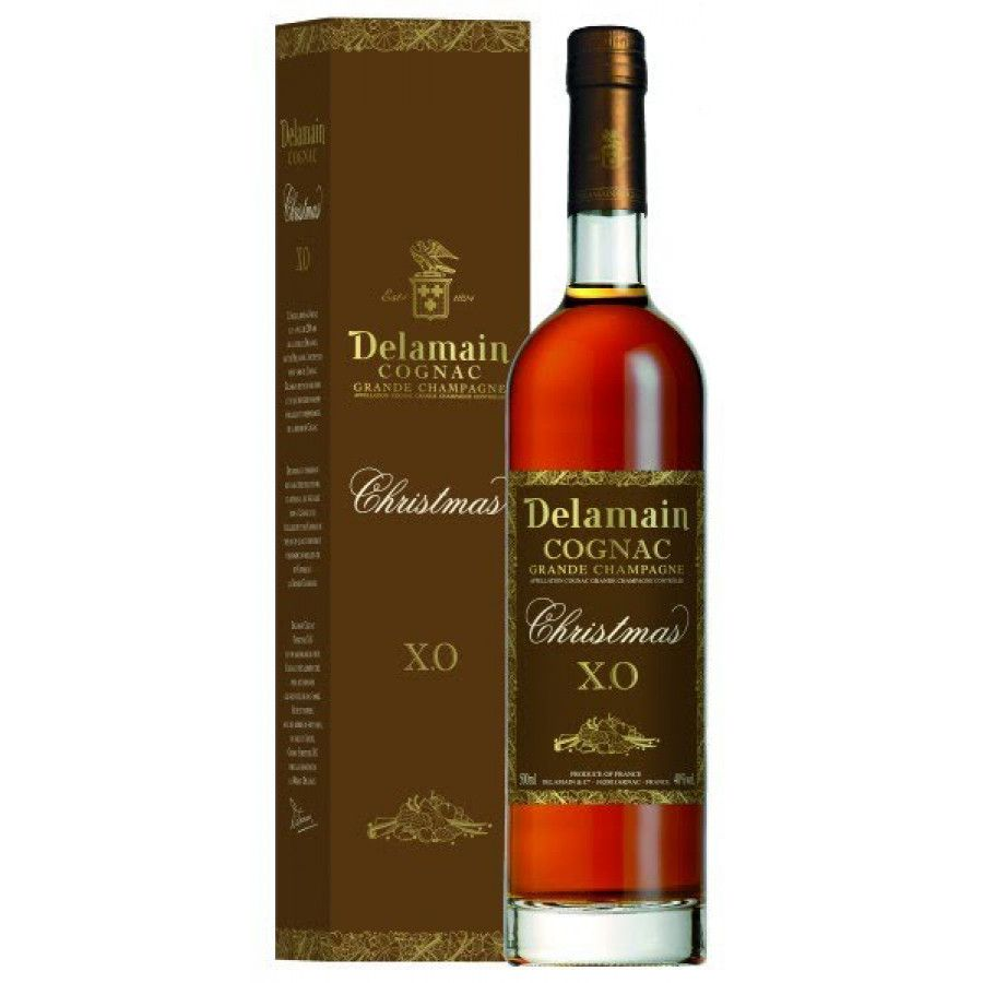 Delamain Christmas XO Cognac 01
