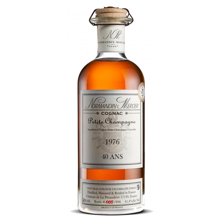 Normandin Mercier Petite Champagne 1976 Cognac 01