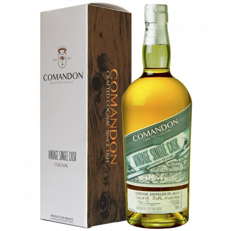 Comandon Single Cask Petite Champagne Vintage 2011 Cognac 01