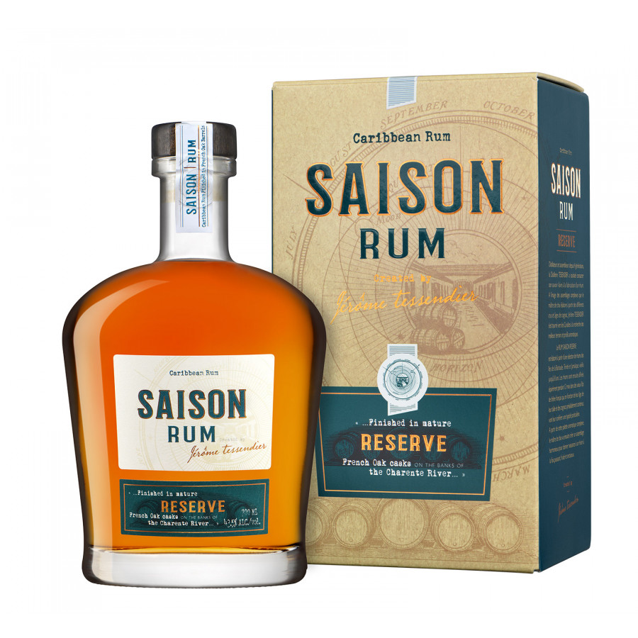 Distillerie Tessendier Saison Rum Reserve 01