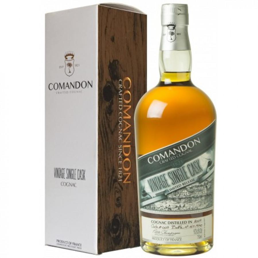 Comandon Petite Champagne Vintage 2007 Cognac 01