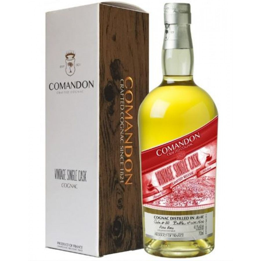 Comandon Single Cask Vintage 2012 Fins Bois Cognac 01