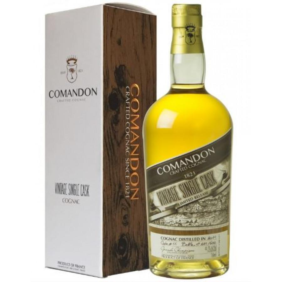 Comandon Single Cask Vintage 2012 Grande Champagne Cognac 01