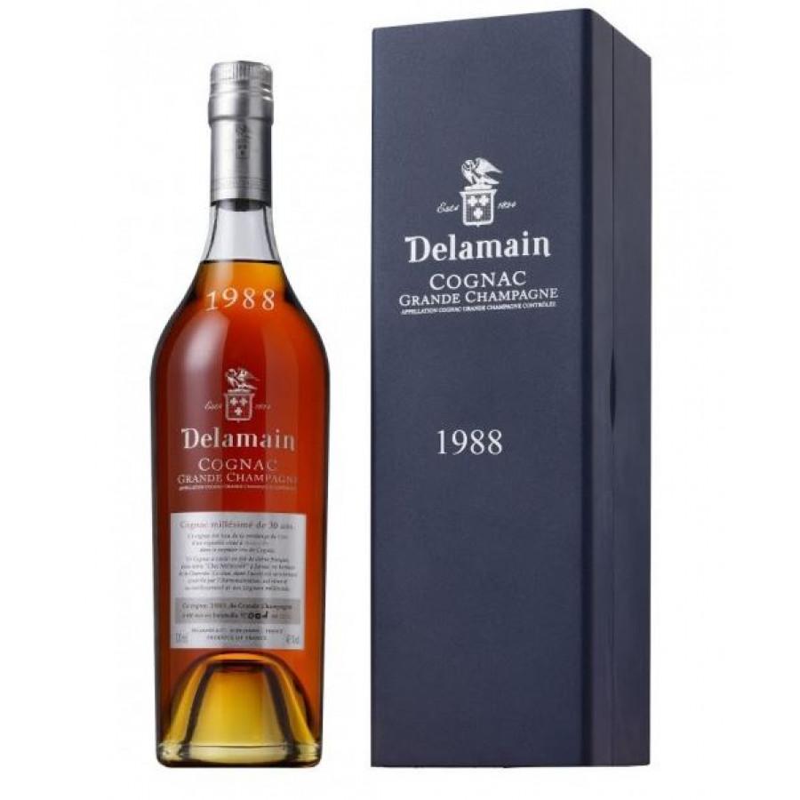 Delamain Vintage 1988 Grande Champagne Cognac 01