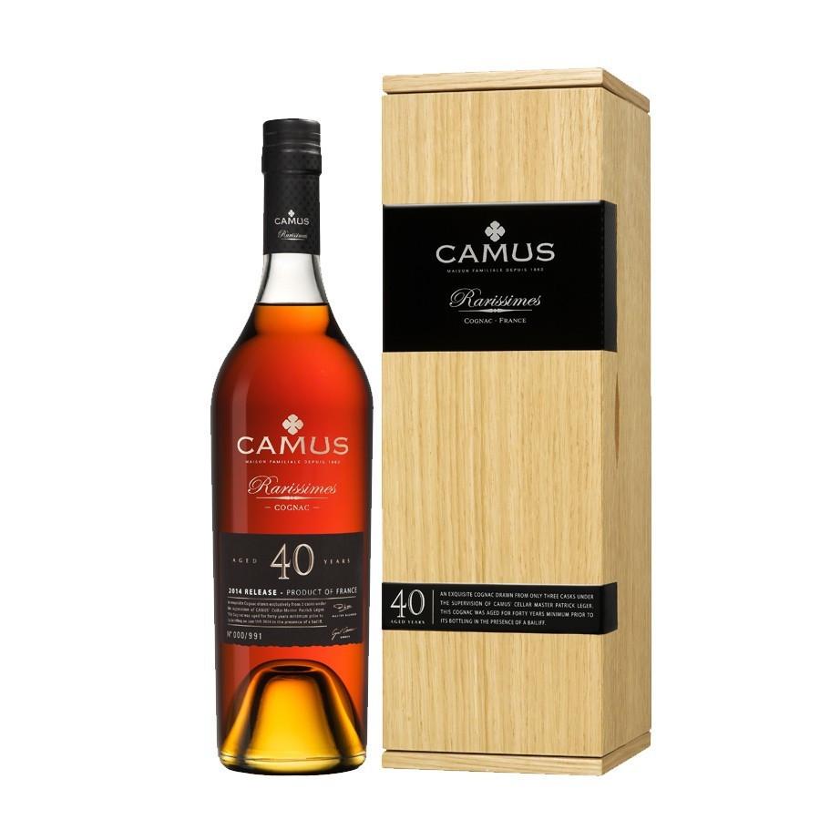 Camus 40 Ans Rarissimes Limited Edition Cognac 01