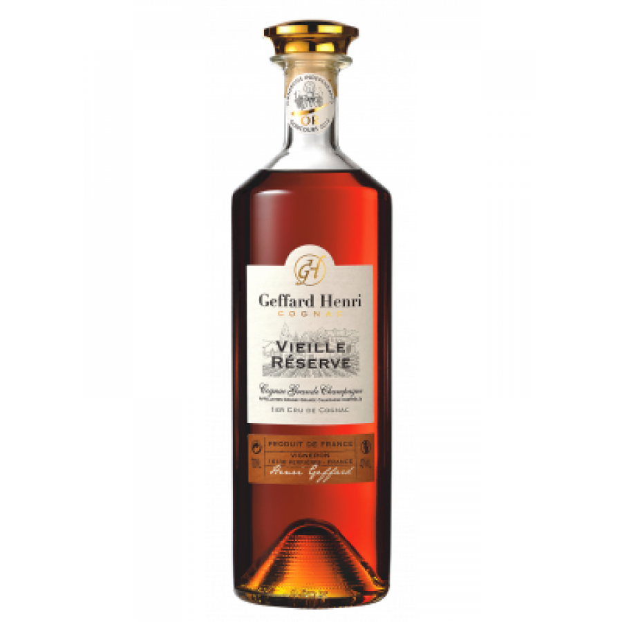 Geffard Henri Vieille Réserve Carafe Millenium Cognac 01