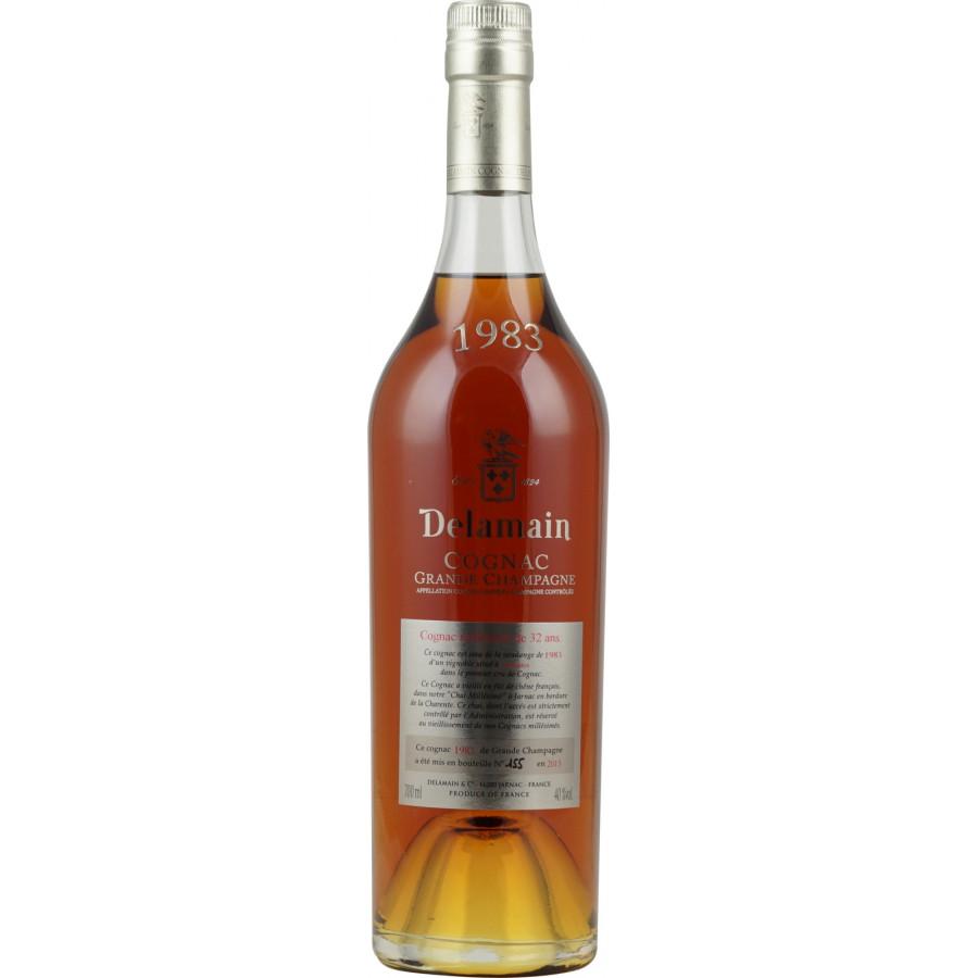 Delamain Vintage 1983 Grande Champagne Cognac 01