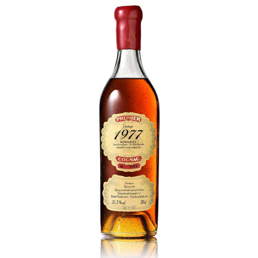 Prunier 1977 Vintage Borderies Cognac 01