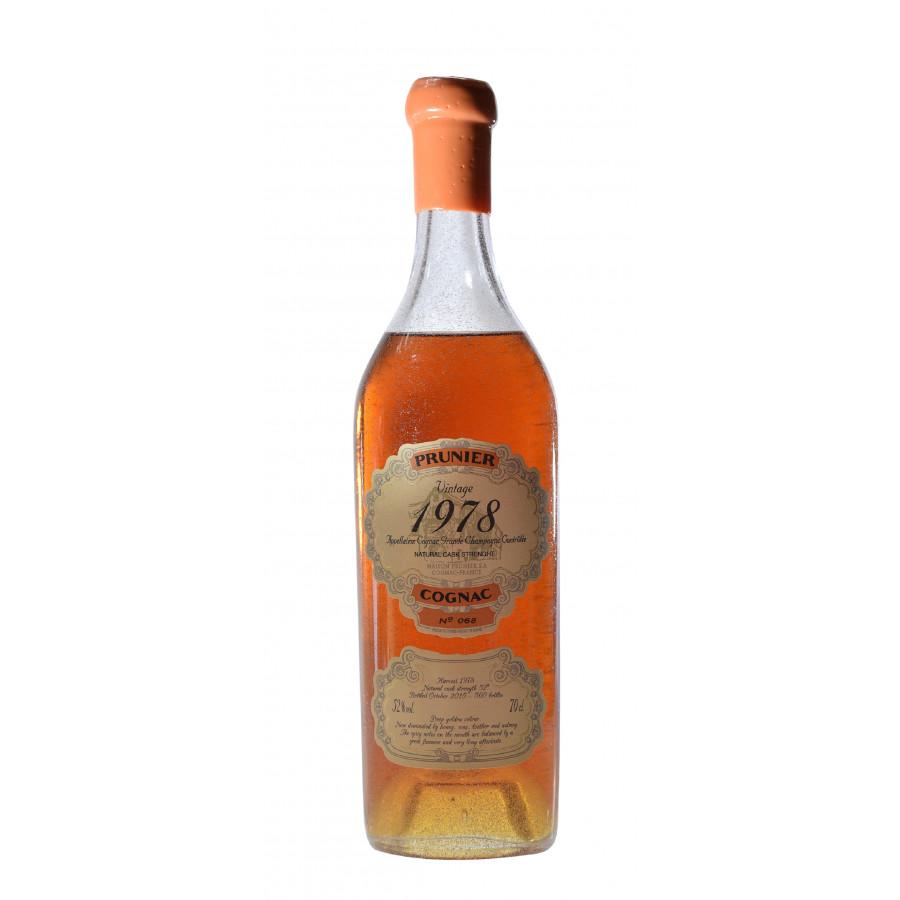 Prunier 1978 Vintage Grande Champagne Cognac 01