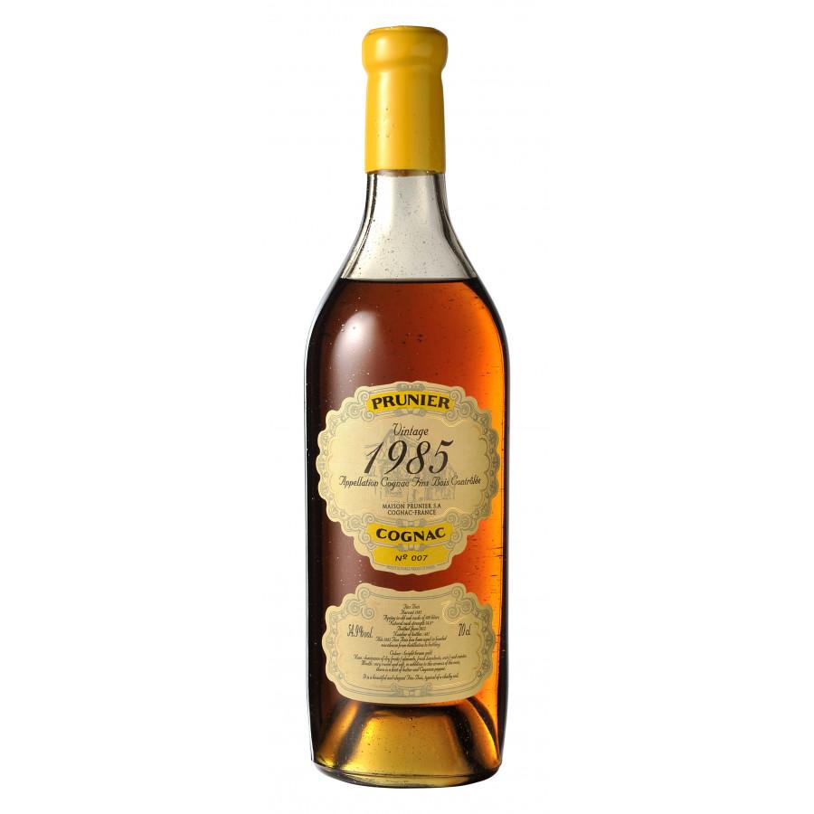Prunier Vintage 1985 Fins Bois Cognac 01