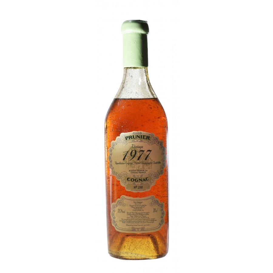 Prunier 1977 Petite Champagne Cognac 01