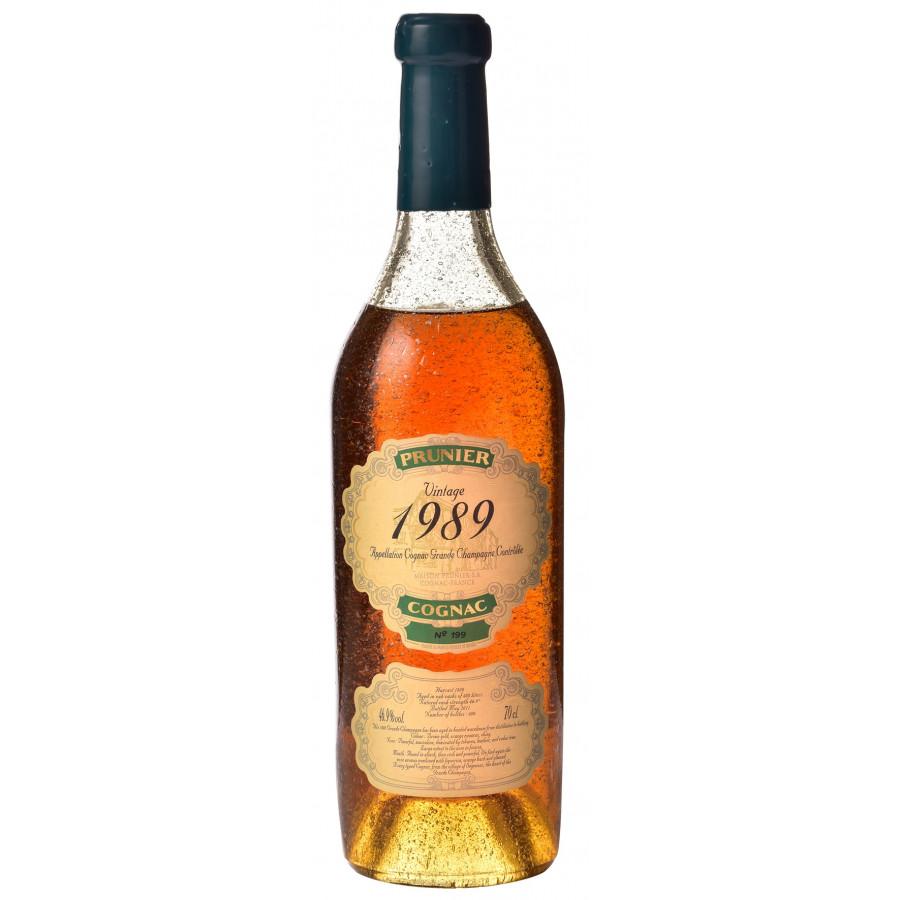 Prunier Vintage 1989 Grande Champagne Cognac 01