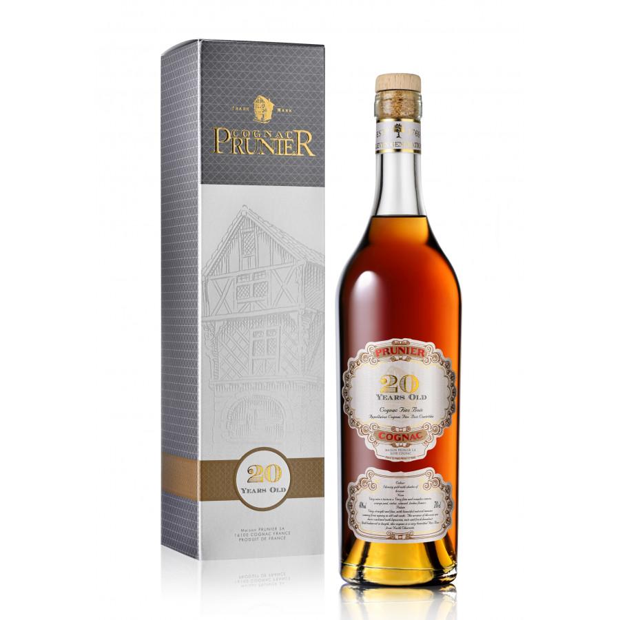 Prunier 20 Years Old Cognac 01