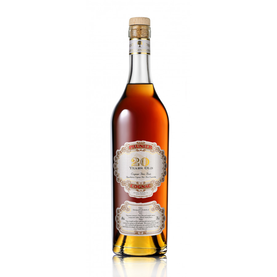Prunier 20 Years Old Cognac 01