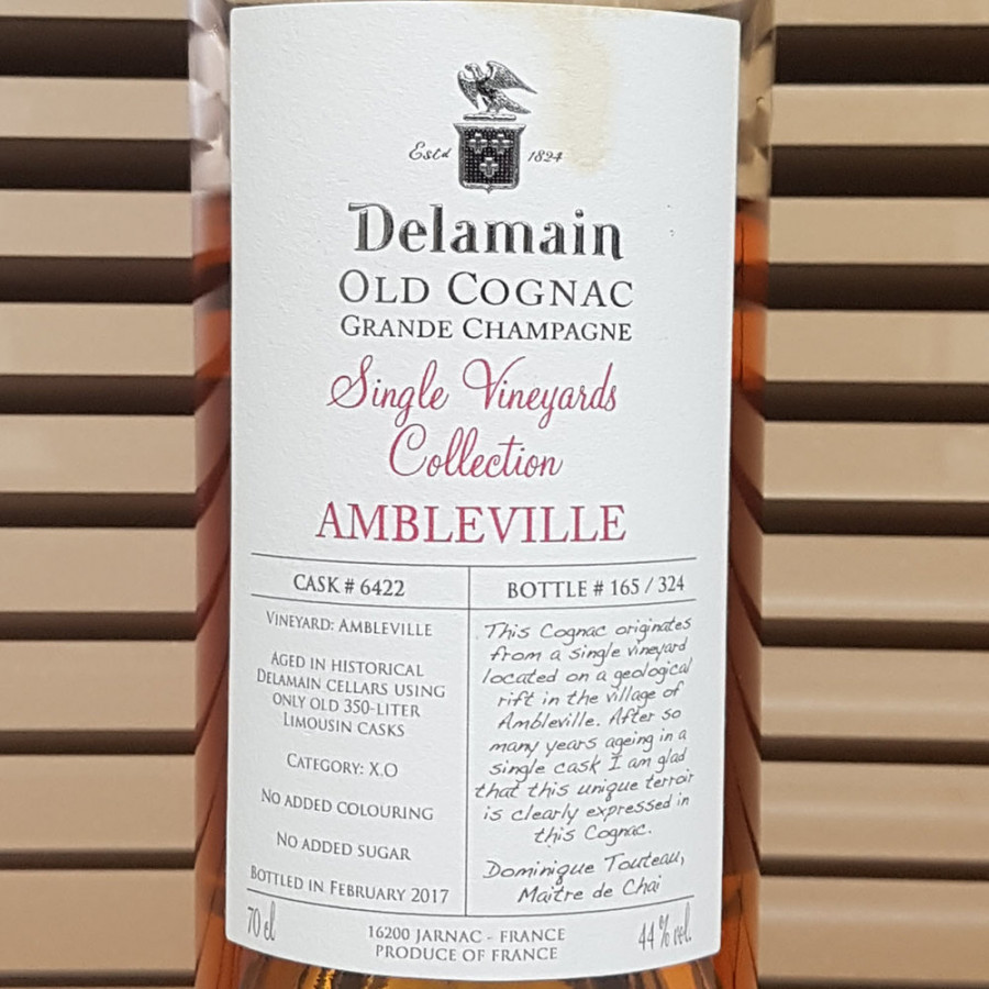 Delamain XO Single Vineyard Collection Ambleville Cognac 01