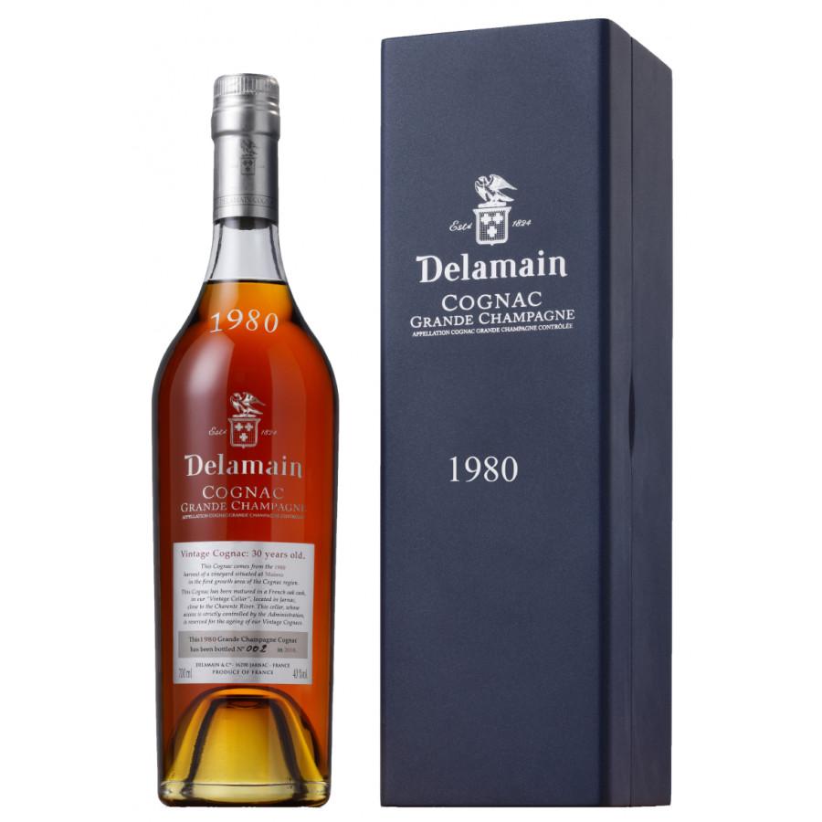 Delamain Vintage Millésimé 1980 Cognac 01