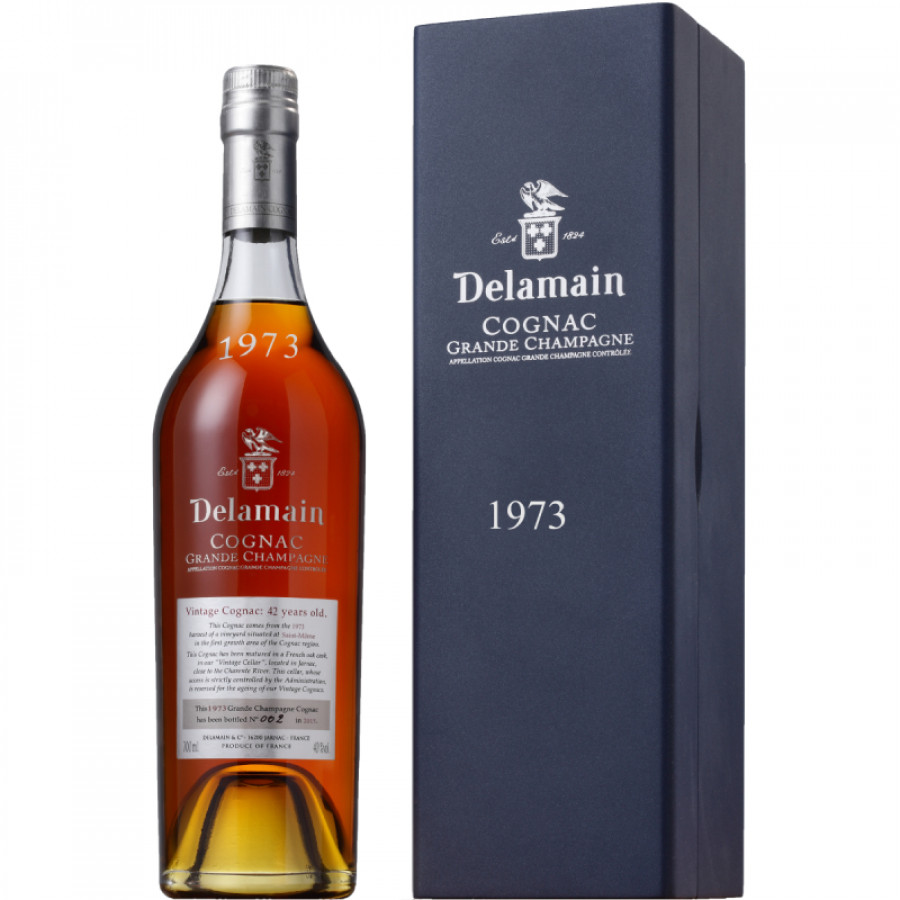 Delamain Vintage 1973 Grande Champagne Cognac 01