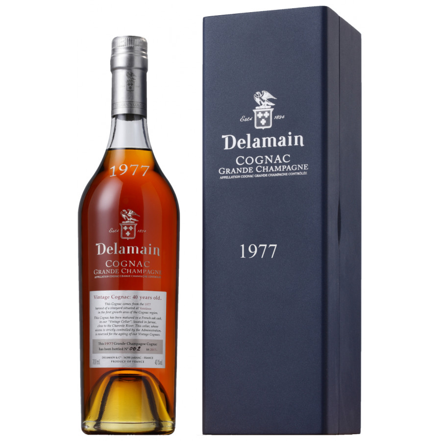 Delamain Vintage 1977 Grande Champagne Cognac 01