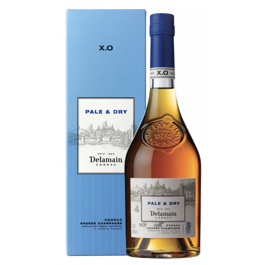 Delamain XO Pale and Dry Cognac 01