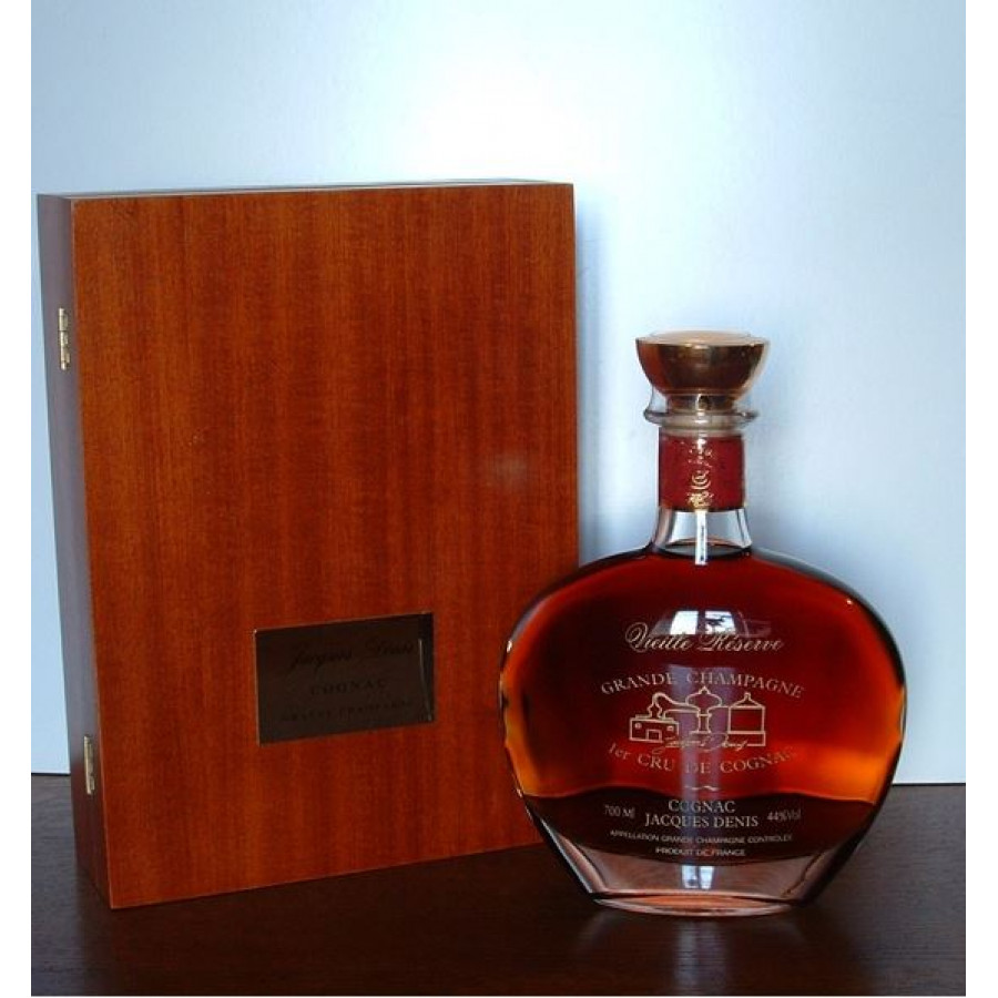 Jacques Denis Vieille Reserve Decanter Cognac 01