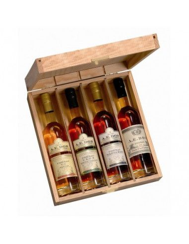 A.E. Dor Assortment Wooden Box N°3 Cognac 01