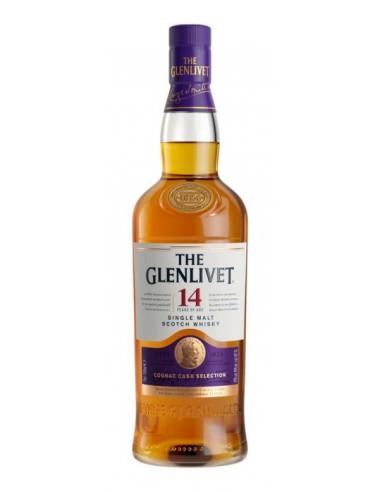 Glenlivet 14 Year Old Scotch Finished in Ex-Cognac Casks 01