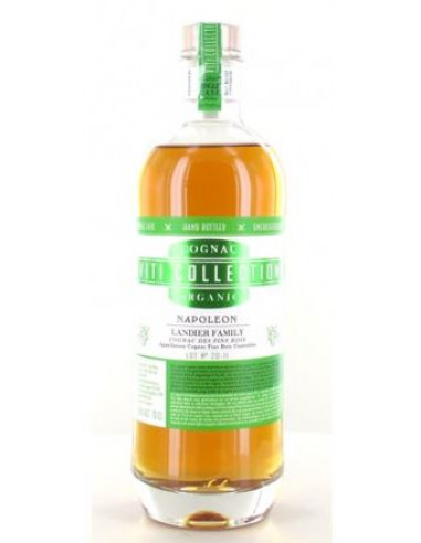Remi Landier Napoleon Viti-Collection Organic Cask Single Lot 2011 Cognac 01