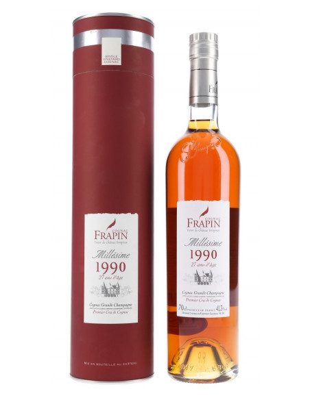 Frapin Millésime 1990 27 Years Old Cognac 04